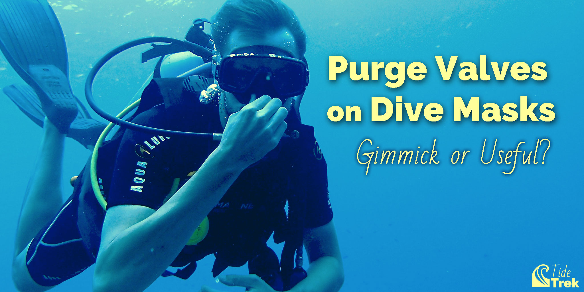 Purge Valves on Dive Masks: Gimmick or Useful?