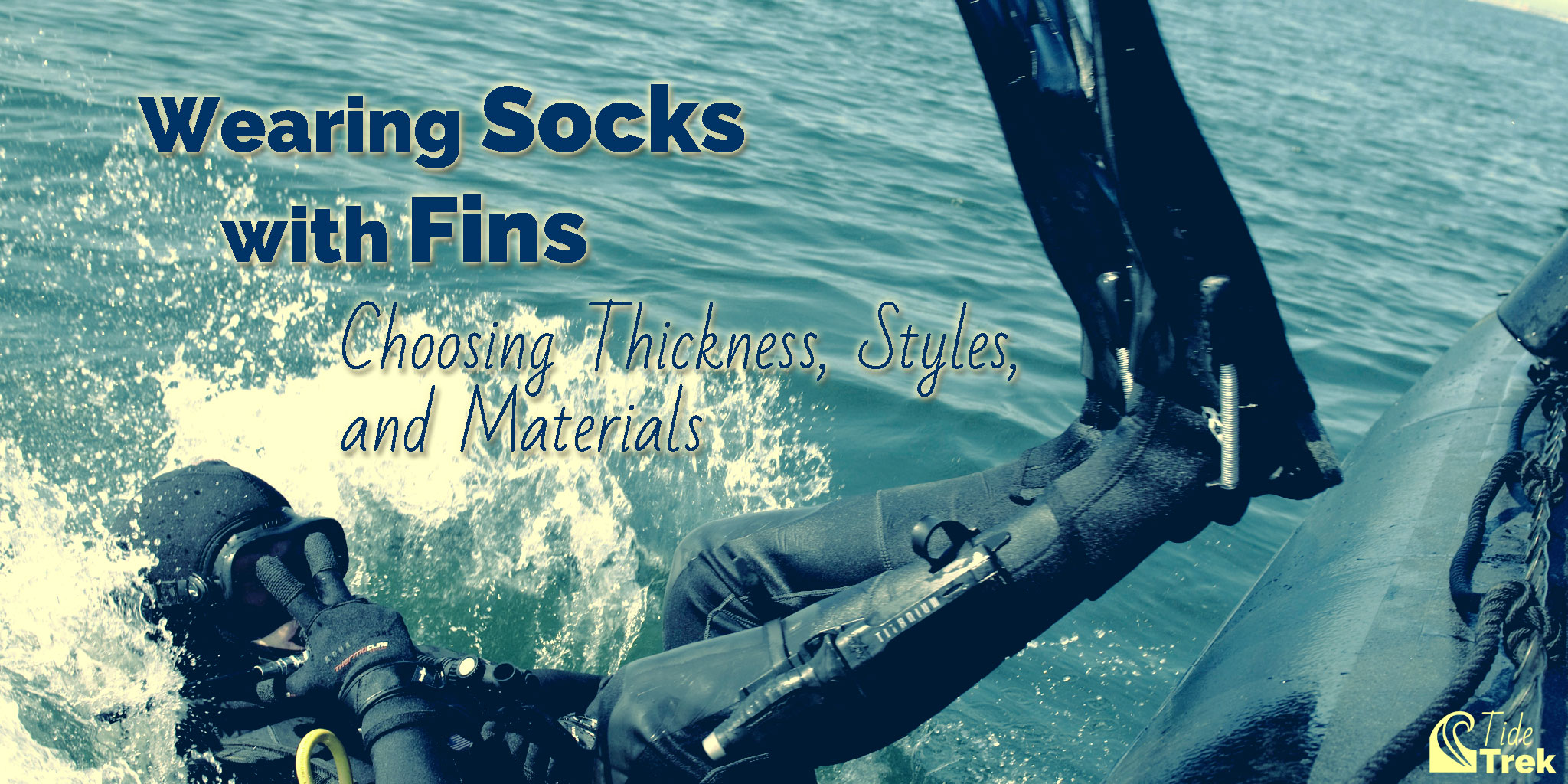 Wearing socks with fins: Choosing Thickness, Styles, and Materials